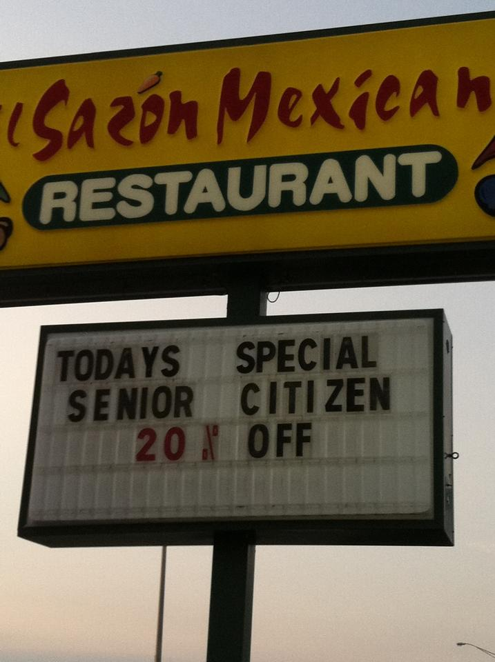 What do senior citizens taste like?
