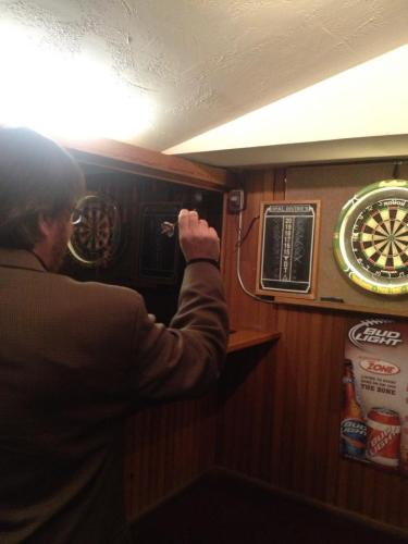 Finished the day with a pub crawl and some darts on Austin's 6th Street.
