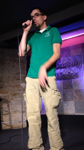 Aaron Snyder made us laugh harder than we had in years in Denver.