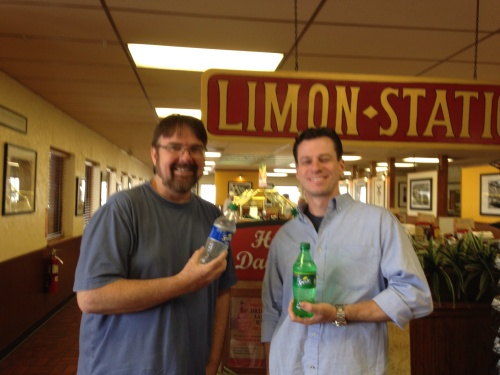 "Who new there was an actual place named ""Limon?"" We celebrate by sharing in their famous drink, Sprite, made from local Limons, I suppose."